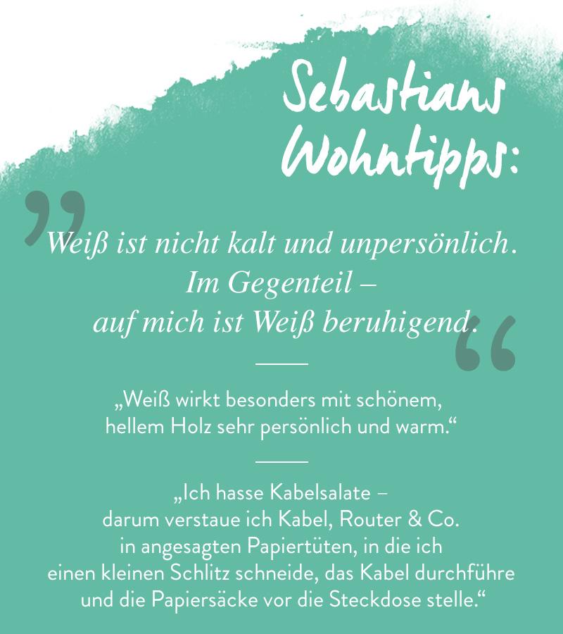 Sebastian Schmidt Instagram Wohntipps