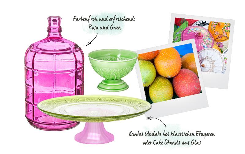 Westwing Asia Style: Pink und Grün