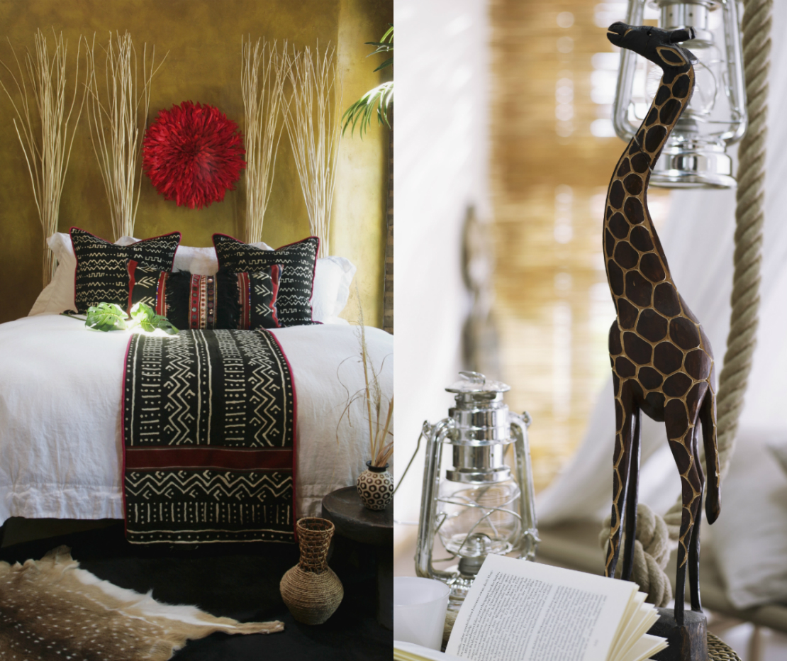 modern-tribal-schlafzimmer-und-giraffen-statue
