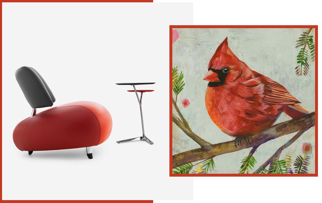 leolux-pallone-paradies-sessel-schwarz-rot