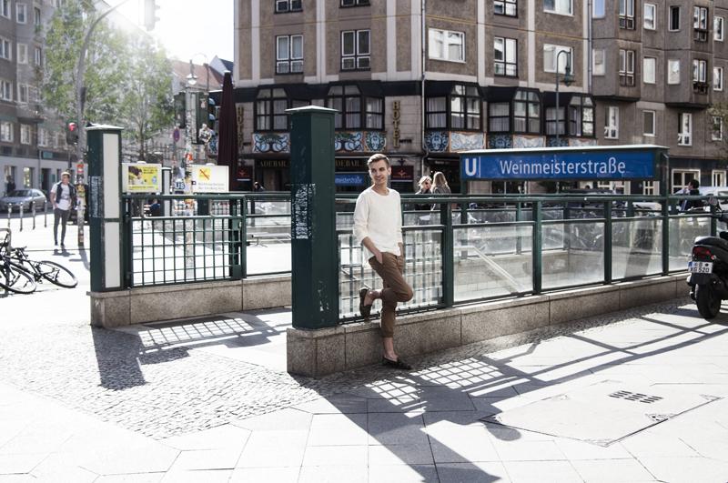 Sebastian Freitag in Berlin