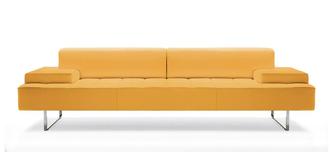 poltrona-frau-couch-quadra-gelb