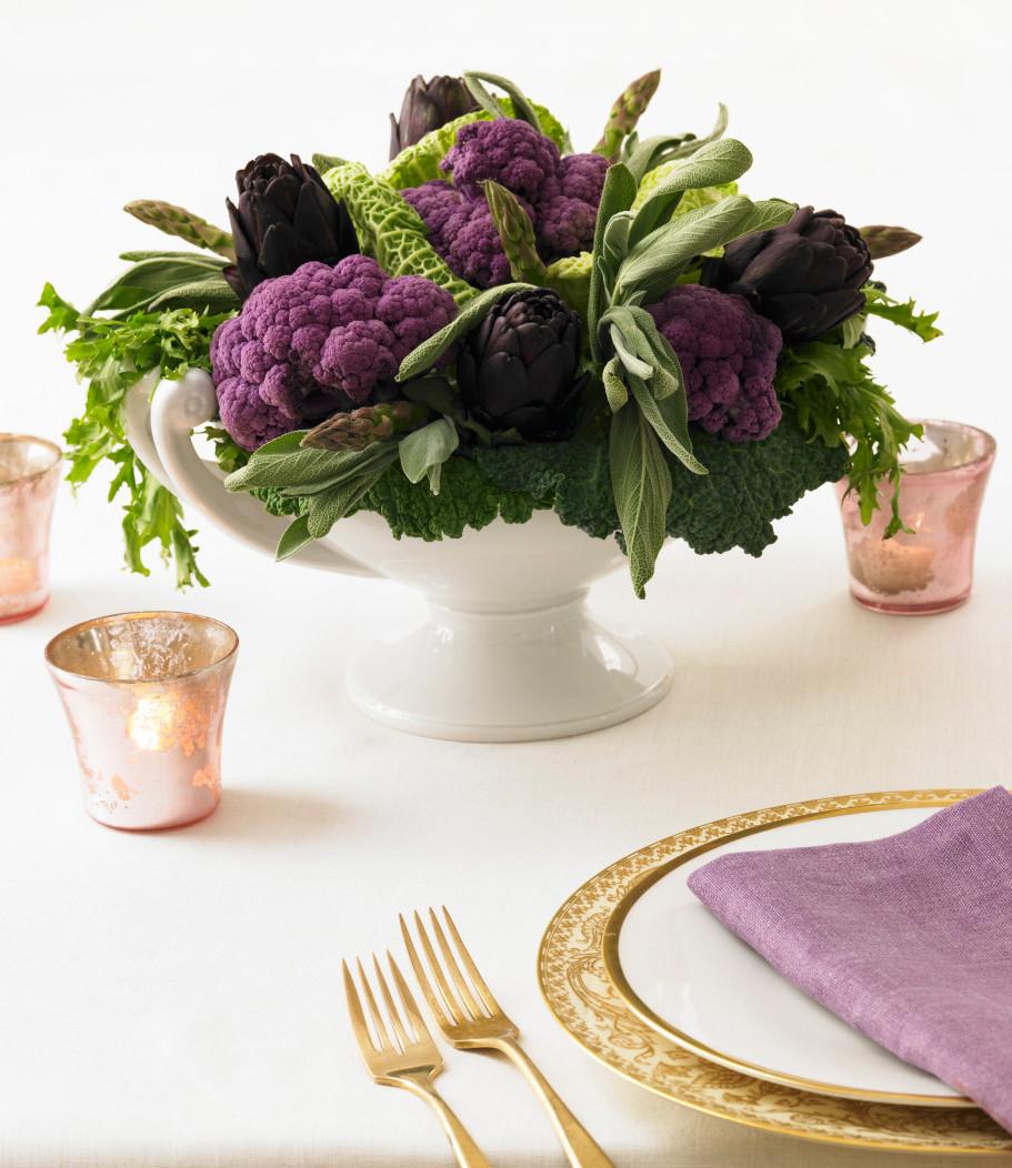 Westwing-Blumen-Gemüsestrauss