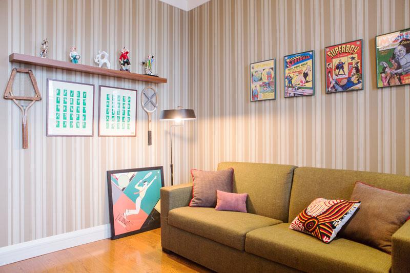 Vera Moskau Arbeitszimmer Couch