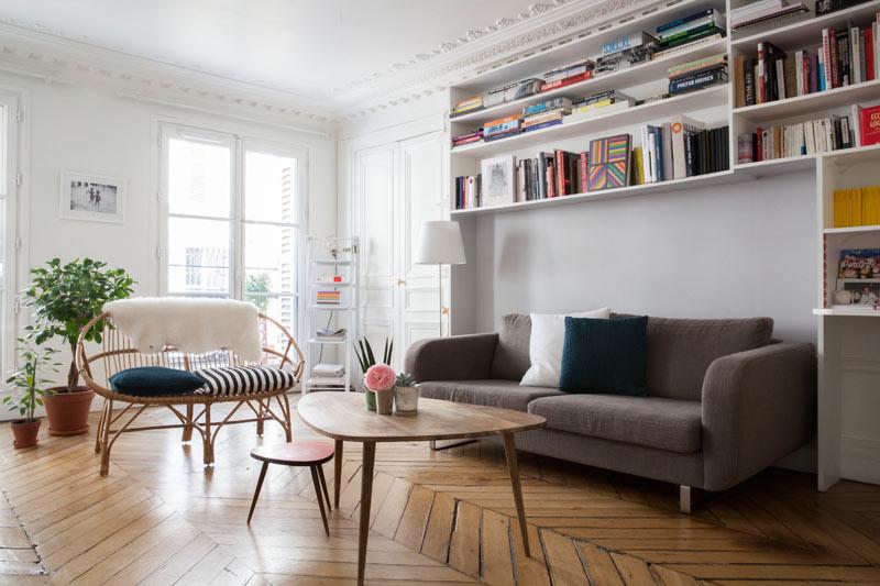 Wohnzimmer Paris