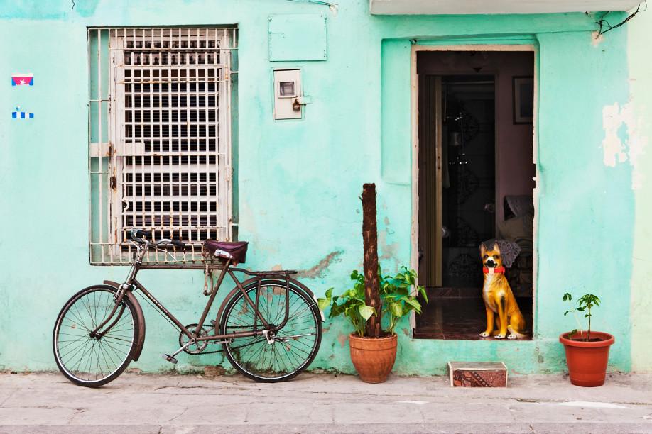 Westwing Kuba Haus Türkis