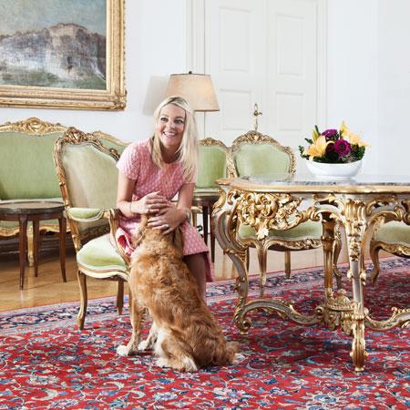 Zu Besuch bei Sandra Gräfin Bernadotte