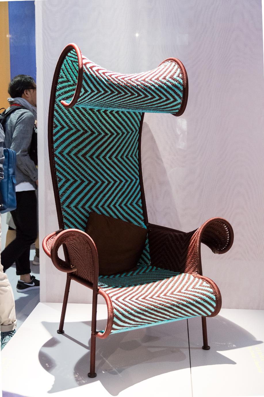 Die 5 top trends von der salone del mobile im westwing for Design stuhl gitter