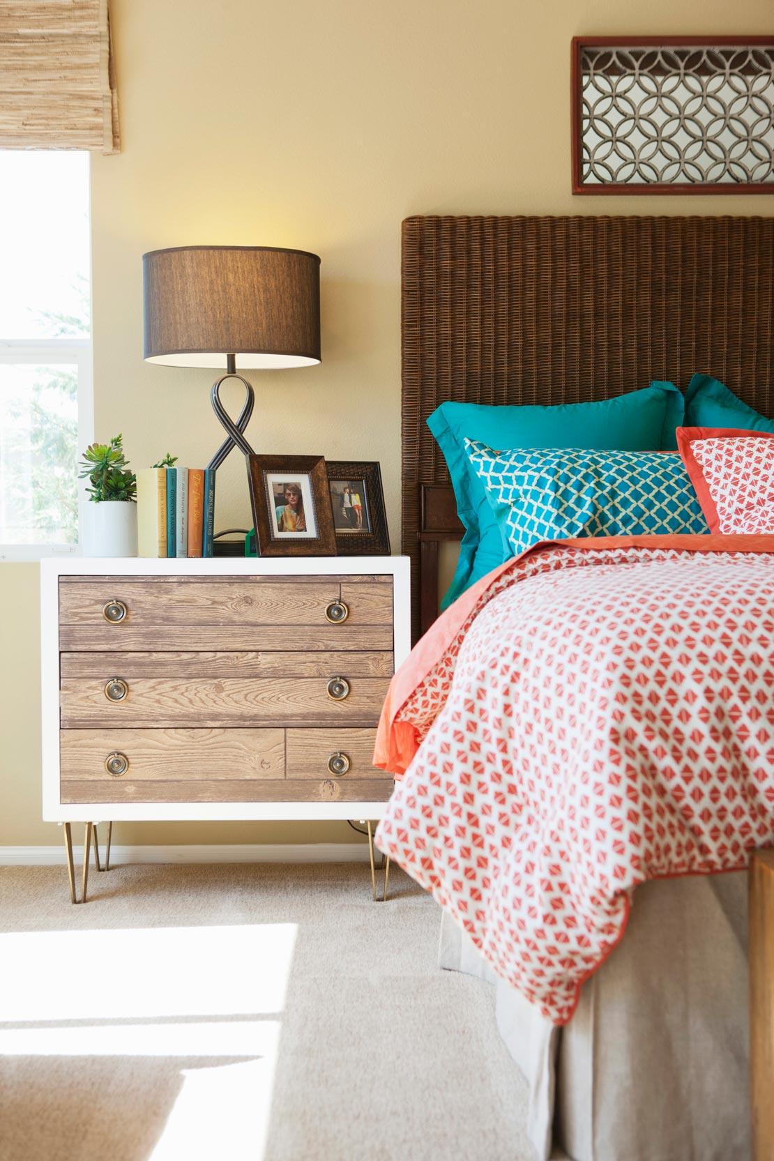 So stylen sie ihr schlafzimmer im westwing magazin - Rattan schlafzimmer ...