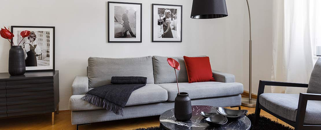 1 sofa 4 looks westwing magazine for Sofas grises decoracion