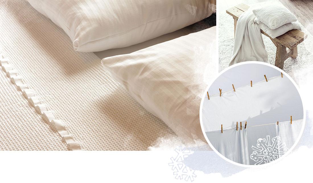 die richtige Pflege Ihrer Bettwaesche
