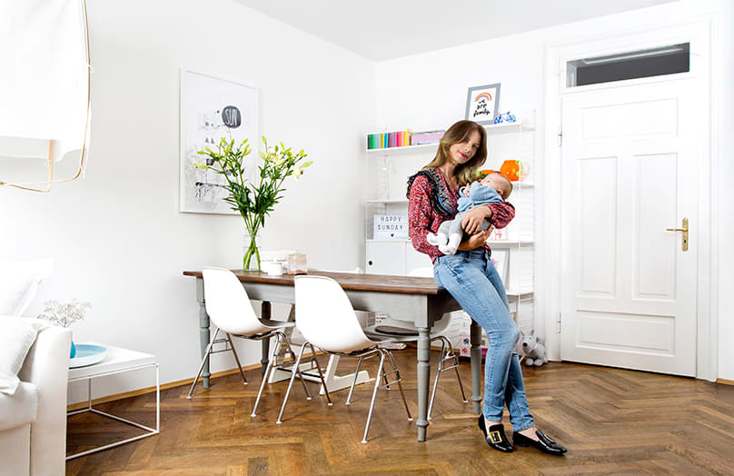 Zu Hause bei Lucia Pontarin
