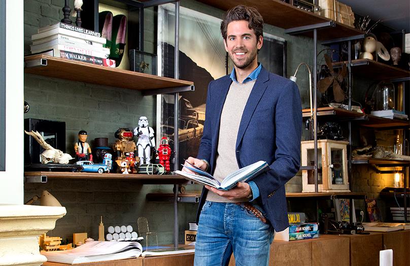 Zu Hause bei Interior Designer James van der Velden