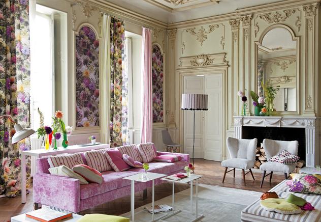 La diseñadora de interiores Tricia Guild es conocida en todo el mundo por Designer's Guild, la firma que lleva su nombre, y su magistral uso de los colores. ¡Échale un vistazo a este particular reino del color!