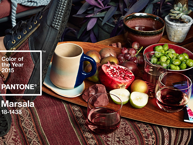 Marsala Pantone color 2015