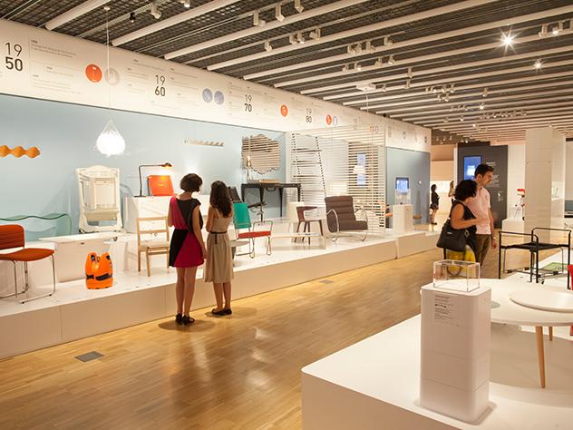 Exposición del Mundo al museo