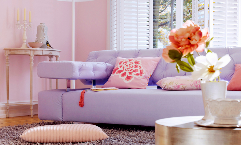 Colores pastel: home sweet home