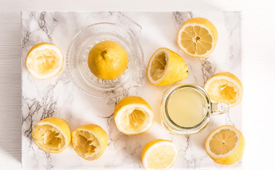limonada de fresa casera zumo de limón