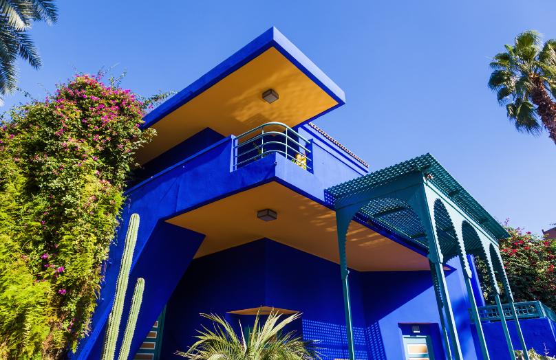 Jardines Majorelle: el paraíso azul de Marrakech