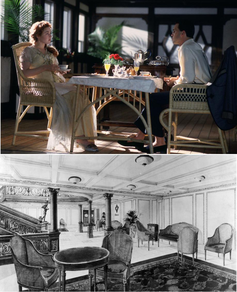 Revive La Sofisticaci N Del Titanic En Casa Westwing Magazine # Muebles Titanic