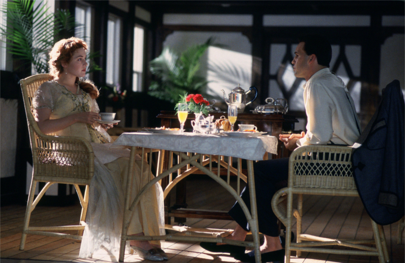 Cómo recrear la elegancia del Titanic en casa