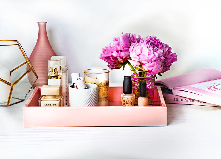 bandejas para perfumes femenino
