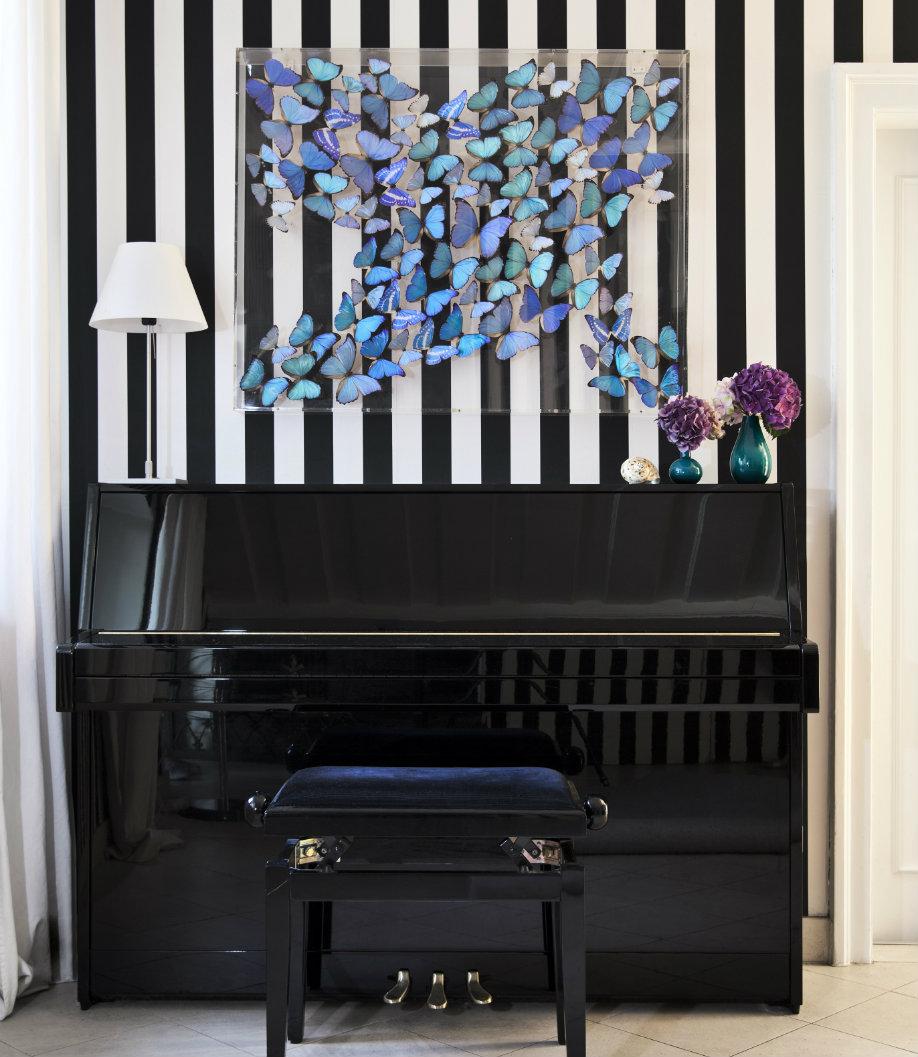 Glamour dinámico piano