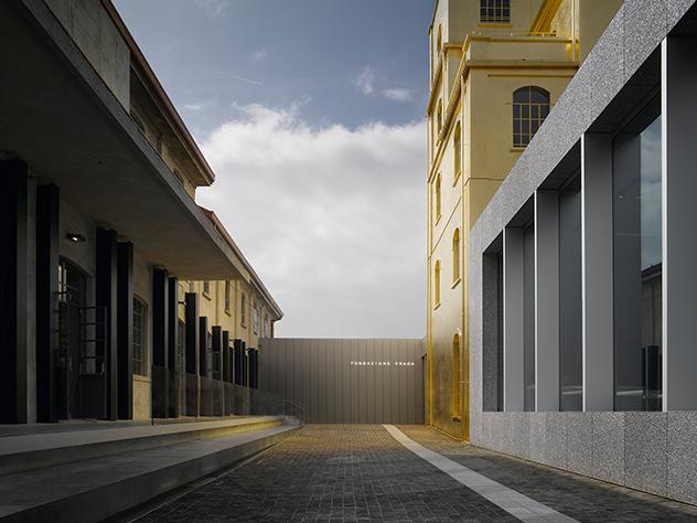 La Fundación Prada de Milán.