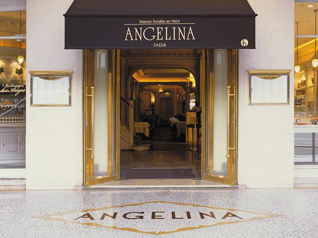Desde hace más de un siglo, el salón de té Angelina se ha impuesto como un emporio de los sabores dulces.