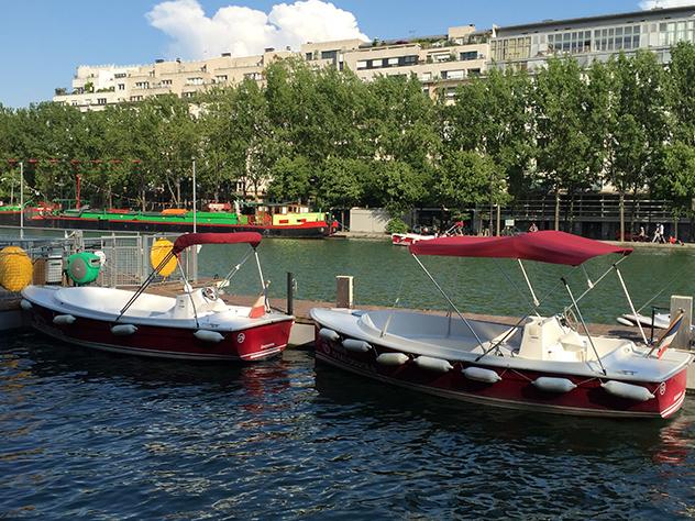 El curso del Canal llega hasta el barrio de la Villette, en el Este de París.