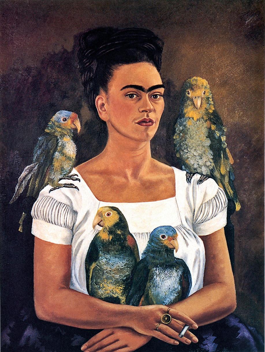 westwing-frida-kahlo-autorretrato-papagayo