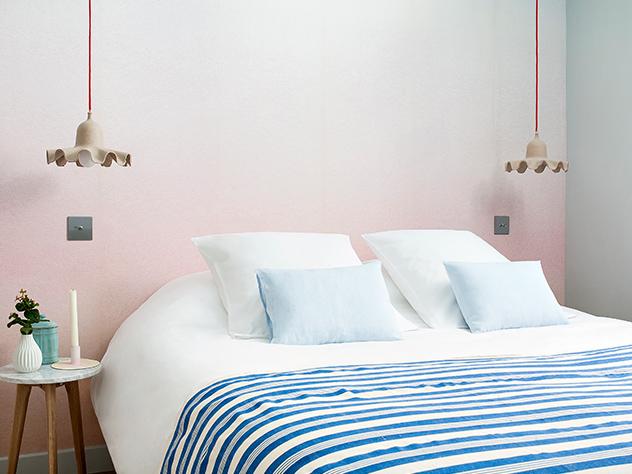 En los diferentes espacios del Hotel podemos encontrar desde mobiliario de los cincuenta hasta telas vintage y detalles bohemios.