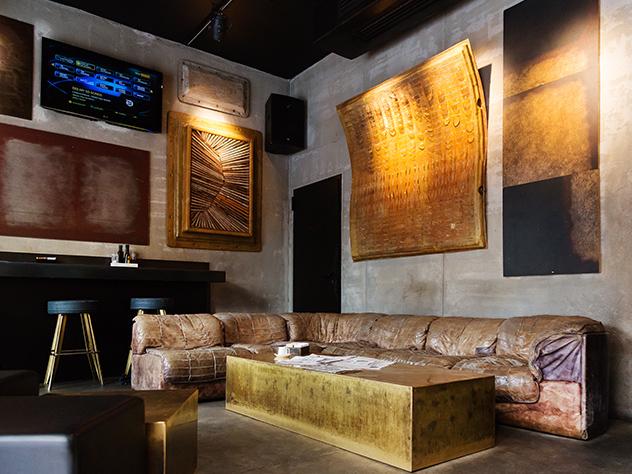 Bar del Straf Hotel&Bar de Milán