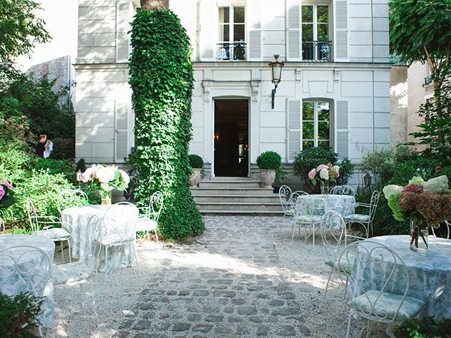 Terraza del Hotel Particuler.