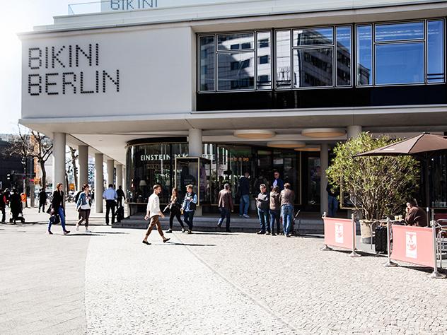 Bikini Berlín destaca por una cool e impresionante arquitectura.
