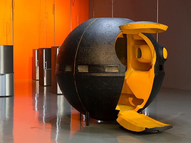 Obra expuesta en la Triennale di Milano.