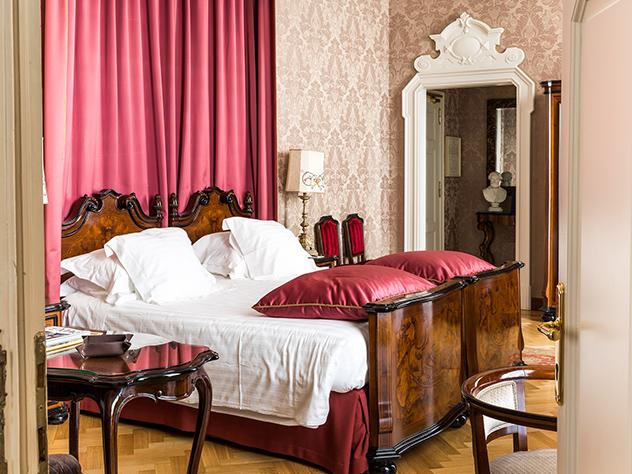 Habitación del Grand Hotel et De Milán.