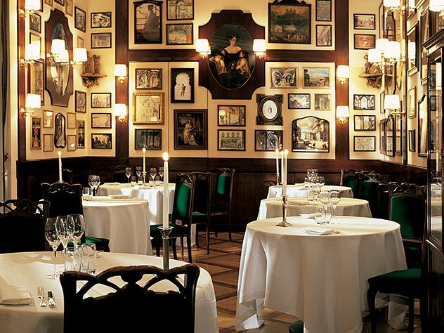 Restaurante Don Carlos, del Grand Hotel et De Milán.