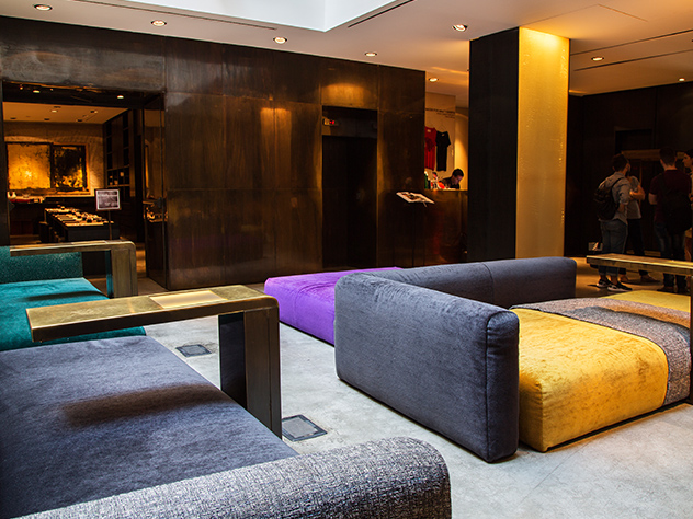 Hall del Hotel Straf de Milán.