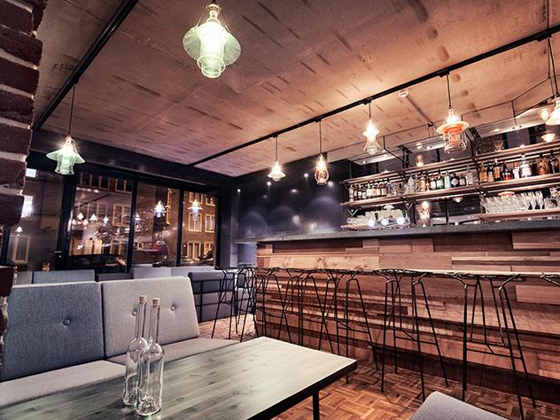 Kevin Bacon es el nombre del restaurante del Hotel Not de Ámsterdam.