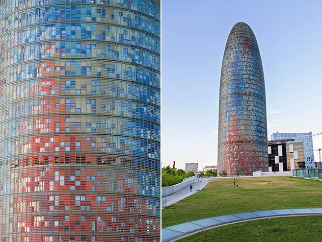 Torre Agbar (Aguas Barcelona).