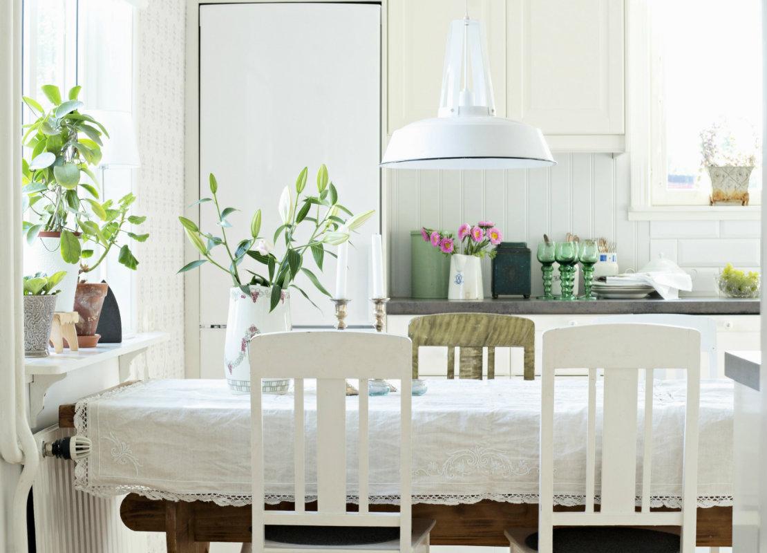 Apartamento rústico luz natural