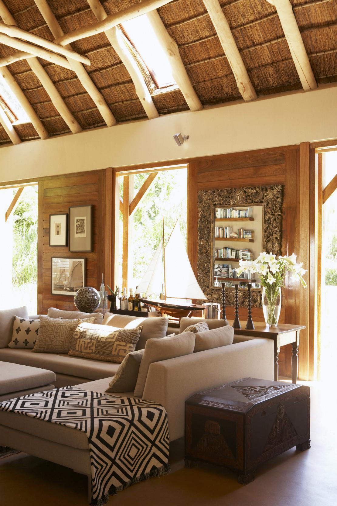 Estilo safari tu casa como un lodge africano westwing for Arredamento casa stile africano
