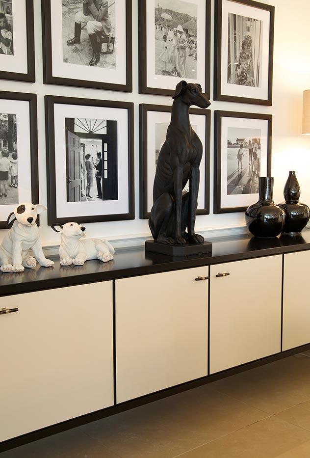 El amor por los animales está presente también a la hora de elegir los accesorios decorativos.