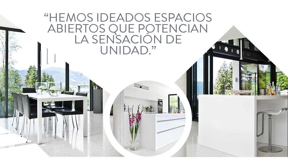 Casa de campo moderna arquitectura