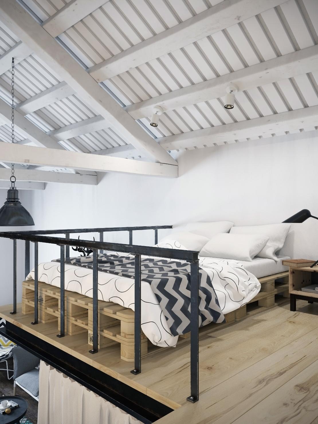 loft-nordico-praga-cama
