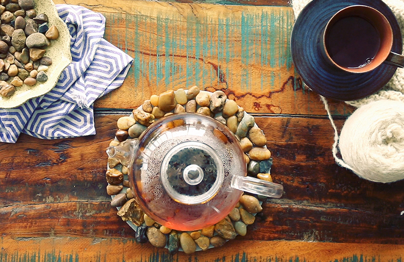 Salvamanteles Zen DIY