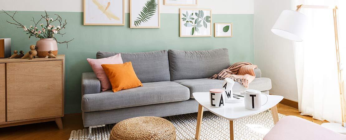 Cuatro estilos para decorar el sal n westwing magazine Sofas grises decoracion