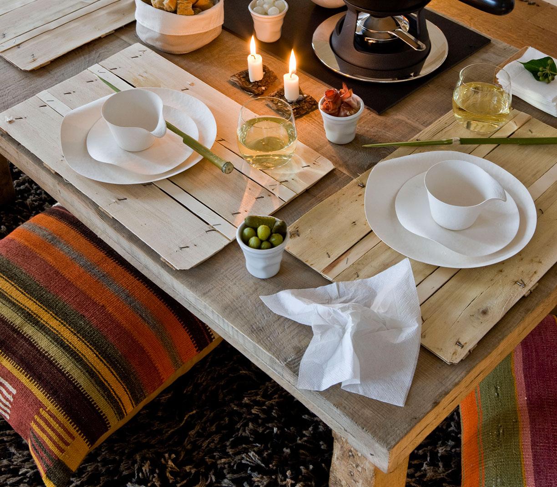 Consejos primera cita decorar la mesa