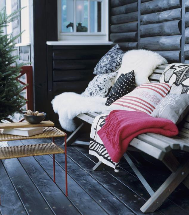 ¡Preparados para el invierno!: también en el balcón